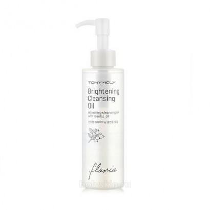 Tony Moly Гидрофильное масло с осветляющим эффектом Floria Brightening Cleansing Oil, 190
