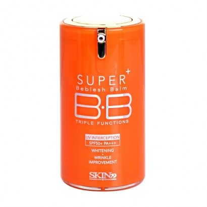 "Super Plus Beblesh Balm Triple Functions SPF50+ Pa+++ / ББ крем ""Витал оранж"", 40гр"