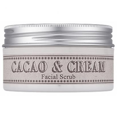 Кремовый скраб с какао Cacao Cream Facial Scrub, 95