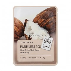 Tony Moly Маска с экстрактом масла ши Pureness 100 Shea Butter Mask Sheet Moisturizing