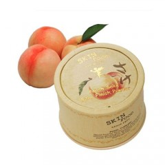 Рассыпчатая прозрачная пудра с экстрактом персика Peach Sake Silky Finish Powder