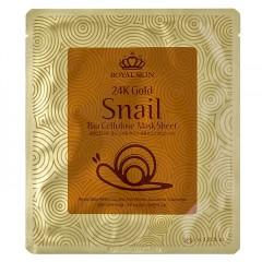 24K Gold Snail Bio Cellulose Mask Sheet / Маска от морщин с экстрактом улиточной слизи